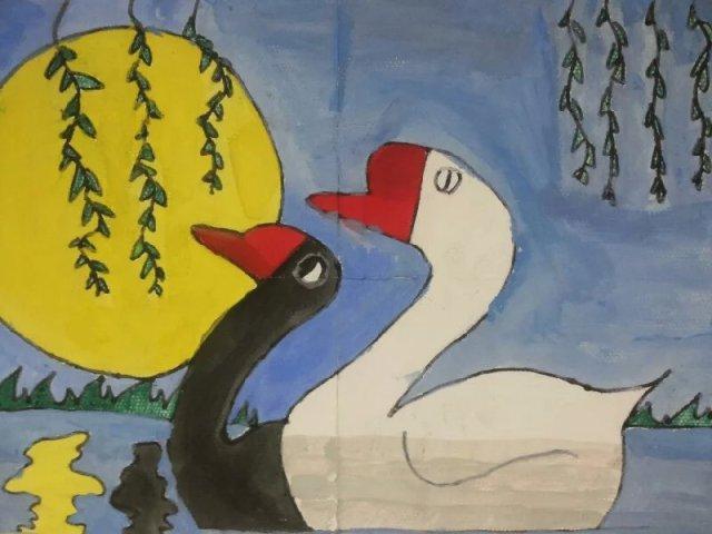 【作品秀场】来自低年级同学们的绘画手工作品